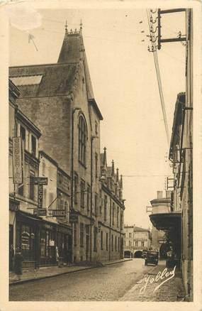 """CPA FRANCE 33 """"Libourne, Rue Jules Ferry"""""""