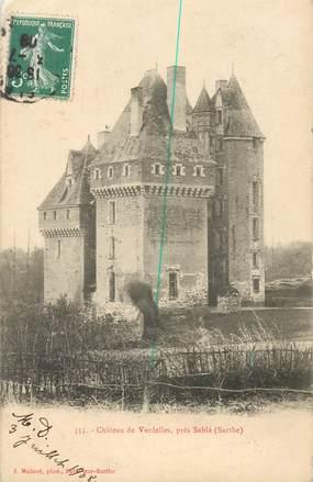 """CPA FRANCE 72 """"Chateau de Verdelles, près Sablé"""""""