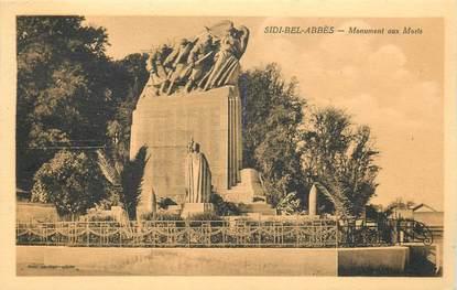 """CPA ALGERIE """"Sidi Bel Abbès, le monument aux morts"""""""