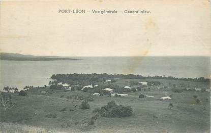 """CPA PAPOUASIE """"Port Léon"""""""