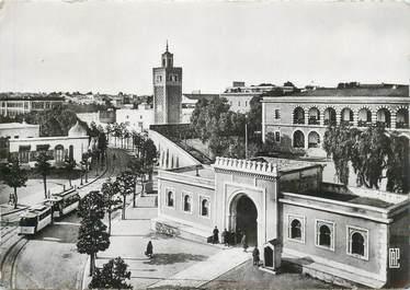 "CPSM TUNISIE ""Tunis, la Casbah et le bld Bab Menara"""