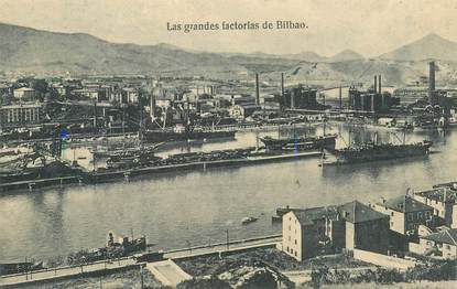 "CPA ESPAGNE ""Bilbao"""