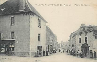 """CPA FRANCE 87 """"Oradour-sur-Vayres, Route du Cussac"""""""