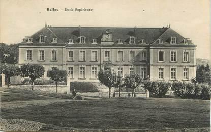 "CPA FRANCE 87 ""Bellac, Ecole Supérieure"""