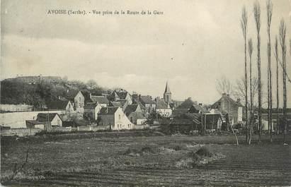 """CPA FRANCE 72 """"Avoise"""""""