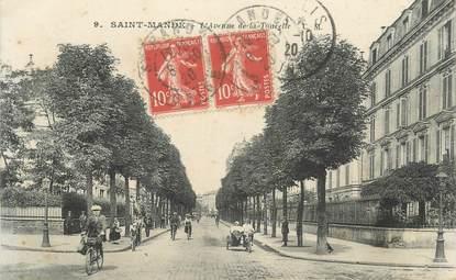 """CPA FRANCE 94 """"St Mandé, Avenue de la Tourette"""""""