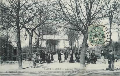 "CPA FRANCE 94 ""St Mandé, Avenue Daumesnil"""