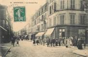 """95 Val D'oise CPA FRANCE 95 """"Argenteuil, La Grande Rue"""""""