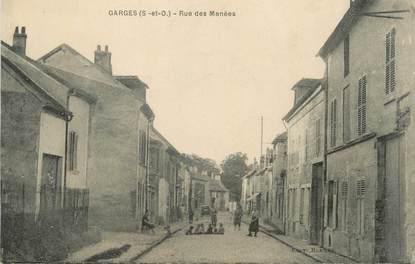 """CPA FRANCE 95 """"Garges, Rue des Menées"""""""