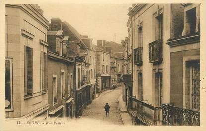 """CPA FRANCE 49 """"Segré, Rue Pasteur"""""""