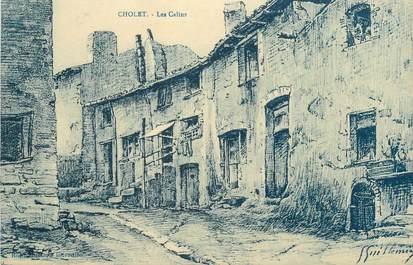 "CPA FRANCE 49 ""Cholet, Les Calins"""