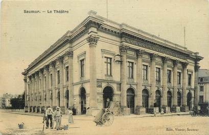"CPA FRANCE 49 ""Saumur, Théatre"""
