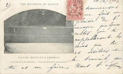 """CPA FRANCE 49 """"Saumur, Vin mousseux de Saumur"""""""