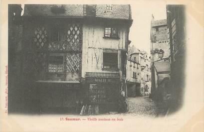 """CPA FRANCE 49 """"Saumur, Vieille maison en bois"""""""