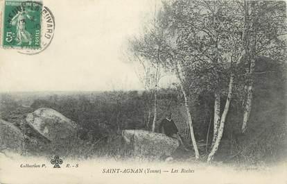 """CPA FRANCE 89 """"St Agnan, Roches"""""""