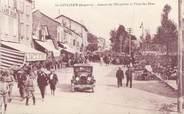 """12 Aveyron CPA FRANCE 12 """"La Cavalerie, Avenue de l'Hospitalet, Place des fêtes"""""""