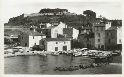 """CPSM FRANCE 83 """"St Tropez, Port des pêcheurs, Citadelle"""""""