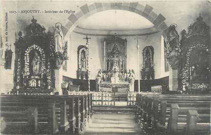 "CPA FRANCE 90 ""Anjoutey, Eglise"""