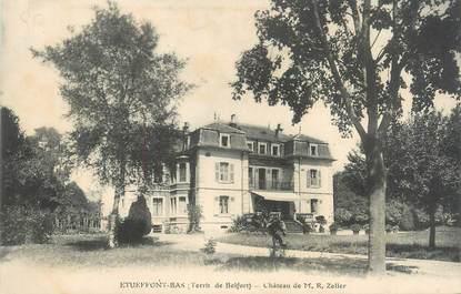 """CPA FRANCE 90 """"Etueffont-Bas, Château de M. R. Zeller"""""""