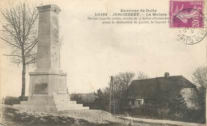 """CPA FRANCE 90 """"Joncherey, Environs de Delle, Monument aux Morts"""""""
