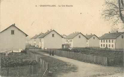 "CPA FRANCE 90 ""Grandvillars, La Cité Blanche"""