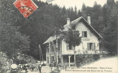 """CPA FRANCE 90 """"Hôtel-restaurant du Saut de la Truite"""""""