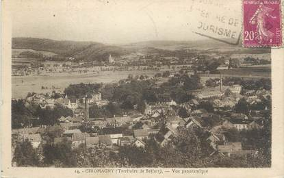 """CPA FRANCE 90 """"Giromagny, Vue panoramique"""""""