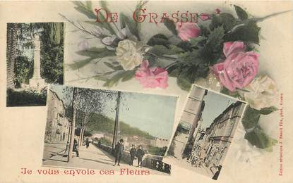 "CPA FRANCE 06 ""Grasse"""