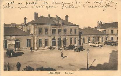 "CPA FRANCE 90 ""Belfort, La Gare"""