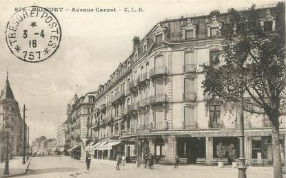 "CPA FRANCE 90 ""Belfort, Avenue Carnot"""