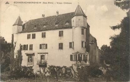 """CPA FRANCE 67 """"Scharrachbergheim, Vieux Château"""""""