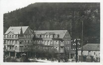 """CPSM FRANCE 67 """"Stambach, Hôtel-Restaurant-Pension, A la Fameuse Truite"""""""