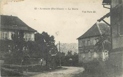 "CPA FRANCE 68 ""Altenach, La Mairie"""