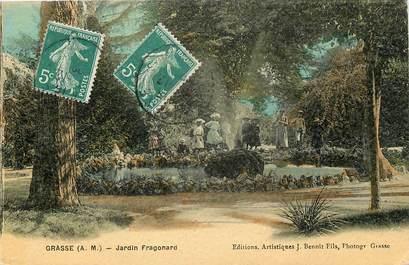 "CPA FRANCE 06 ""Grasse, Jardin Fragonard"""