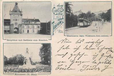 "CPA FRANCE 68 ""Turckheim, / GRUSS"""
