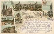 "68 Haut Rhin CPA FRANCE 68 ""Mulhouse, / GRUSS"""