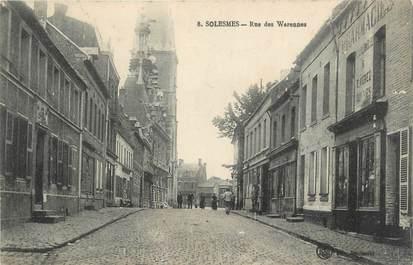 "CPA FRANCE 59 ""Solesmes, Rue des Warennes"""