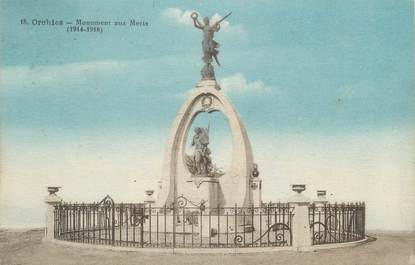 """CPA FRANCE 59 """"Orchies, Monument aux Morts"""""""