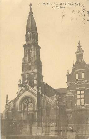 "CPA FRANCE 59 ""La Madeleine, l'Eglise"""