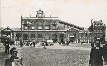 """CPSM FRANCE 59 """"Lille, La Gare"""""""