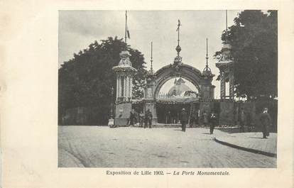 """CPA FRANCE 59 """"Lille, La Porte Monumentale"""""""