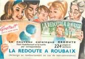 """59 Nord CPSM FRANCE 59 """"Roubaix, Carte Publicitaire"""""""