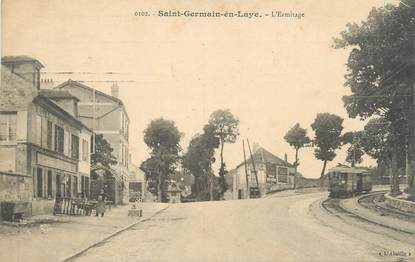 "CPA FRANCE 78 ""Saint-Germain-en-Laye, L'Ermitage"""