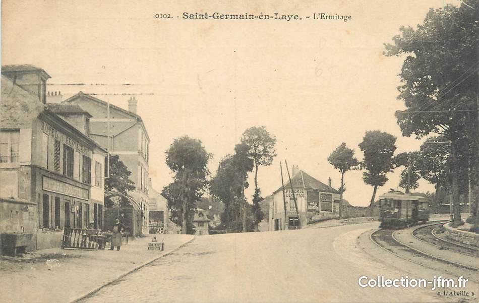 Cpa france 78 saint germain en laye l 39 ermitage 78 yvelines saint germain en laye 78 - La poste st germain en laye ...