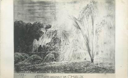 """CPA FRANCE 78 """"Versailles, eau-Forte originale de Chaux"""""""