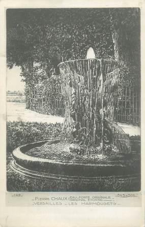 """CPA FRANCE 78 """"Versailles, eau-Forte originale de Chaux, Les Marmousets"""""""