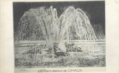 """CPA FRANCE 78 """"Versailles, eau-Forte originale de Chaux, Bassin des Couronnes"""""""