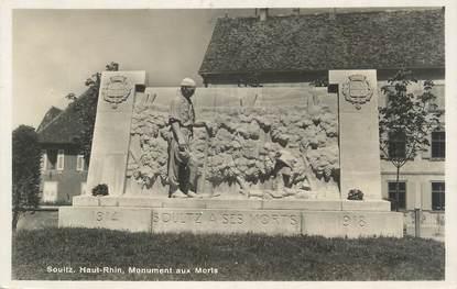 """CPSM FRANCE 68 """"Soultz, Monument aux Morts"""""""