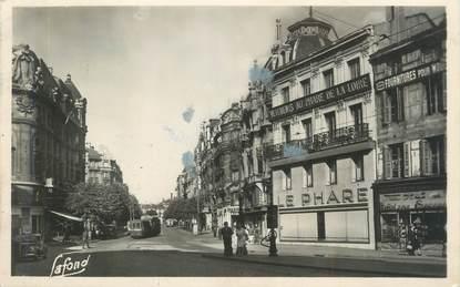 """CPSM FRANCE 42 """"Saint-Etienne, Avenue de la Libération"""""""