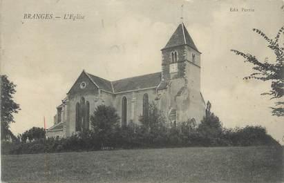 "CPA FRANCE 71 ""Branges, l'Eglise"""